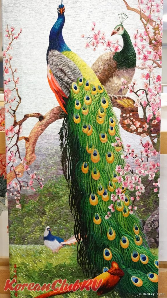 Exhibition of Korean handmade embroidery SPRING-14
