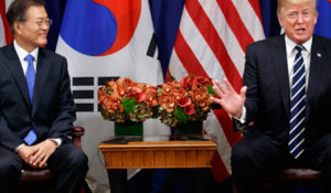 US South Korea White House Talks